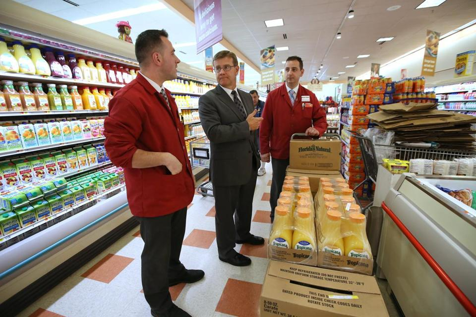 Market Basket operations manager David McLean said the chain is expanding its healthy food and prepared food offerings.